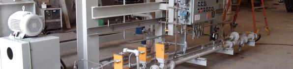 Process Heater Fuel Skid Packages | Exotherm Corporation