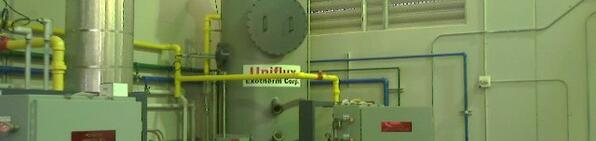 vegetable oil processing heater
